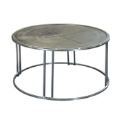 Coast to Coast Imports Compass Rose Cocktail Table