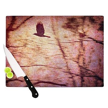 KESS InHouse Midnight Dreary Cutting Board; 11.5'' H x 15.75'' W x 0.15'' D