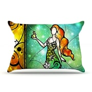 KESS InHouse Fairy Tale Frog Prince Pillow Case; Standard