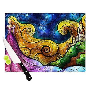 KESS InHouse Starry Lights Cutting Board; 11.5'' H x 15.75'' W x 0.15'' D