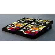 Victory Tailgate Cassette Tapes Cornhole Game Set