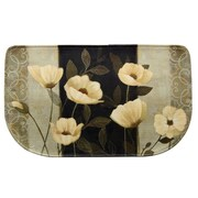 Bacova Guild Standsoft Midnight Poppies Doormat