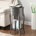 Williams Import Co. Ashton End Table; Gray