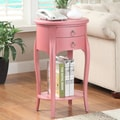 Williams Import Co. Ashton End Table; Pink
