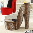 Williams Import Co. Leopard High Heel Chair