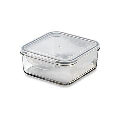 Kinetic Glasslock 41.04 Oz. Square Tempered Glass Container