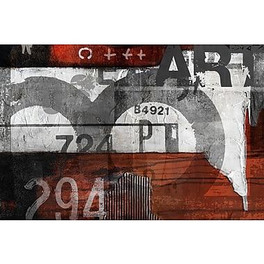 TAF DECOR Paris Vibes 3 Move On 33 Graphic art Plaque