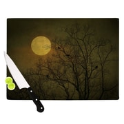 KESS InHouse Starry Night Cutting Board; 8.25'' H x 11.5'' W x 0.25'' D