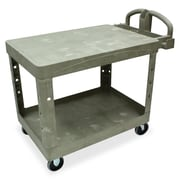 Rubbermaid Commercial Products 26'' Flat Shelf Utility Cart