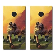 Victory Tailgate Football Player Themed Cornhole Game Set