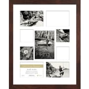 Timeless Frames Life's Great Moments 9 Opening Collage Picture Frame; Espresso