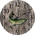 Ashton Sutton 12'' MDF Case Wall Clock