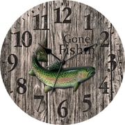 Ashton Sutton 12'' MDF Case Wall Clock
