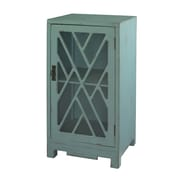 Powell Chippendale End Table; Blue