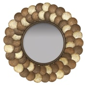 Passport Capiz Shell Wall Mirror