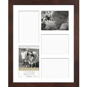 Timeless Frames Life's Great Moments 5 Opening Collage Picture Frame; Espresso