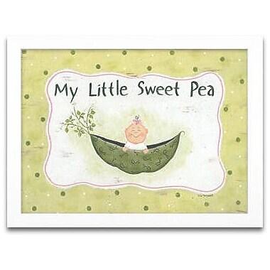 Timeless Frames My Little Sweet Pea Framed Graphic Art