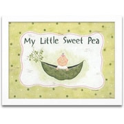 Timeless Frames My Little Sweet Pea Framed Textual Art