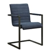 Moe's Home Collection Sabina Arm Chair; Blue