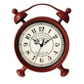 Cheungs Table Clock; Red