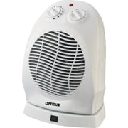 Optimus Portable Electric Fan Compact Heater with Thermostat