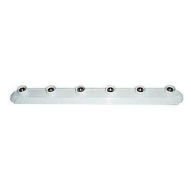 Whitfield Lighting Victor 6-Light Bath Bar; White