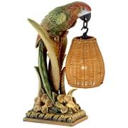 Pacific Coast Lighting Kathy Ireland Greek Parrot Paradise 17'' H Table Lamp