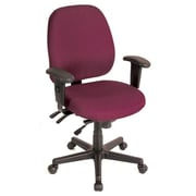 Eurotech Seating 4x4 Chair with Arms; Burgundy