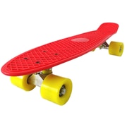 Wasatch Imports Boss Board Complete Vintage Skateboard; Dragon (Red Deck with Yellow Wheels)