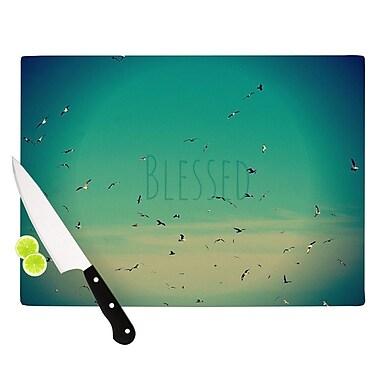 KESS InHouse Blessed Cutting Board; 11.5'' H x 15.75'' W x 0.15'' D