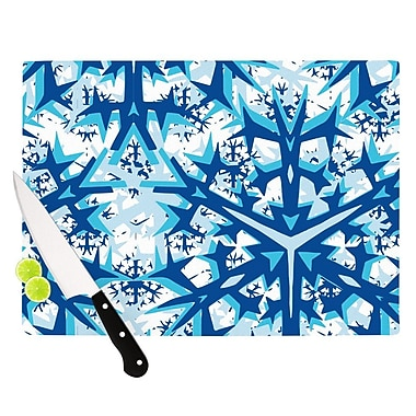 KESS InHouse Winter Mountains Cutting Board; 11.5'' H x 15.75'' W x 0.15'' D