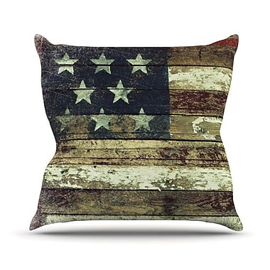KESS InHouse Oh Beautiful Throw Pillow; 16'' H x 16'' W