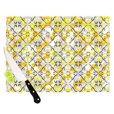 KESS InHouse Effloresco Cutting Board; 11.5'' H x 15.75'' W x 0.15'' D