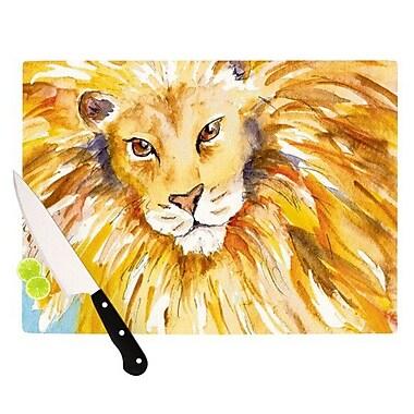 KESS InHouse Wild One Cutting Board; 8.25'' H x 11.5'' W x 0.25'' D