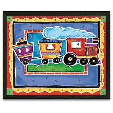 Timeless Frames Train Framed Graphic Art