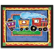 Timeless Frames Train Framed Painting Print