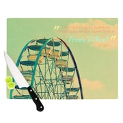 KESS InHouse Ferris Wheel Cutting Board; 8.25'' H x 11.5'' W x 0.25'' D