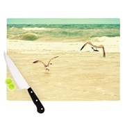 KESS InHouse Karate Kid Pose Cutting Board; 11.5'' H x 15.75'' W x 0.15'' D