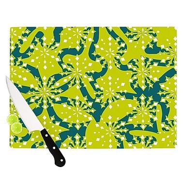 KESS InHouse Festive Splash Cutting Board; 11.5'' H x 15.75'' W x 0.15'' D
