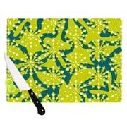 KESS InHouse Festive Splash Cutting Board; 8.25'' H x 11.5'' W x 0.25'' D