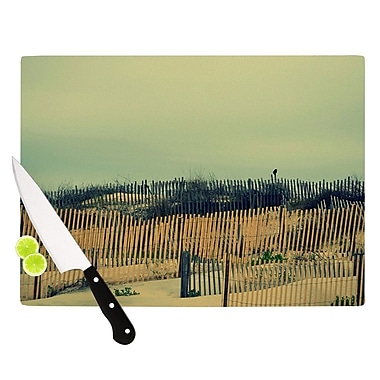 KESS InHouse Carova Dunes Cutting Board; 8.25'' H x 11.5'' W x 0.25'' D