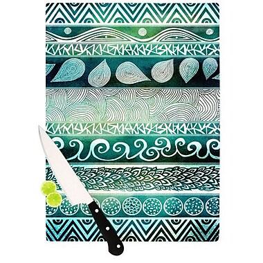 KESS InHouse Dreamy Tribal Cutting Board; 11.5'' H x 15.75'' W x 0.15'' D
