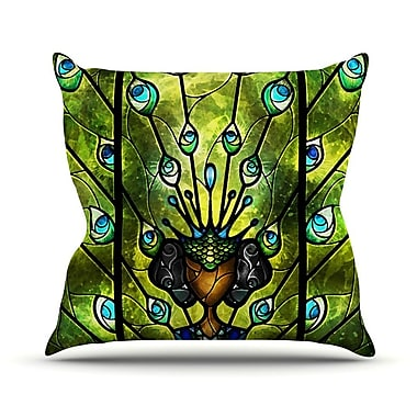 KESS InHouse Angel Eyes Throw Pillow; 16'' H x 16'' W