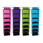 Sunbeam 6 Shelf Closet Organizer; Purple