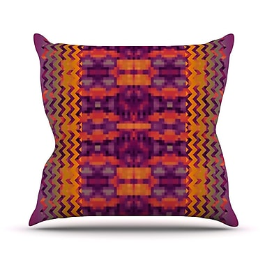 KESS InHouse Medeasetta Throw Pillow; 18'' H x 18'' W