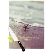 KESS InHouse You Are A Star Cutting Board; 11.5'' H x 15.75'' W x 0.15'' D
