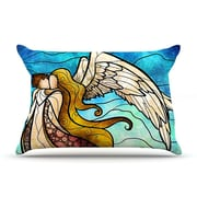 KESS InHouse In The Arms Of The Angel Pillow Case; Standard