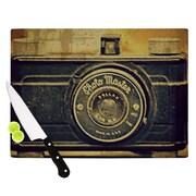 KESS InHouse Discarded Treasure Cutting Board; 11.5'' H x 15.75'' W x 0.15'' D