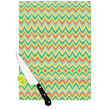 KESS InHouse Bright and Bold Cutting Board; 11.5'' H x 15.75'' W x 0.15'' D