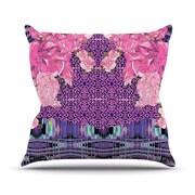 KESS InHouse Lepparo Throw Pillow; 18'' H x 18'' W